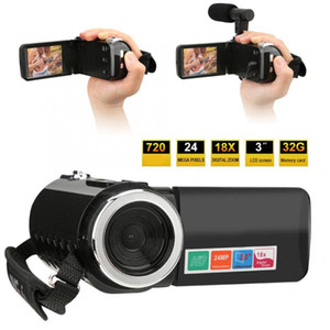 Camcorders Filmadora 3 Inch LCD Screen 18X Digital Zoom High Definition DV Camera Camcorder Profissional Video