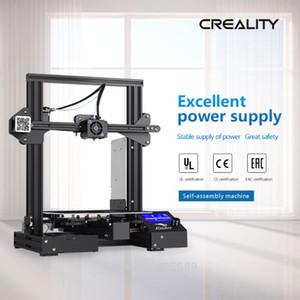 الاصلي Creality اندر-3 الموالية 220 * 220 * 250MM I3 ABS PLA الطباعة DIY 3D طابعة الشحن المجاني