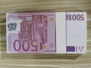 Euro vendite calde soldi falsi Film specifico Prop Denaro 500 Giochi Popolari Toy Denaro festivi del partito Collection regalo W10 02