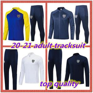 2020 2021 BOCA Juniors Cousssit Мужской учебный костюм 20 21 Tevez Maradona Moura Abila de Rossi JRS Boca Juniors Спорт Футбольная куртка