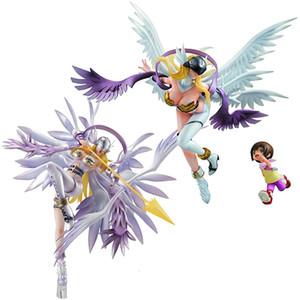 Digimon PVC Cartoon modèle Toys Angewomon action One Piece Anime Figure Poupées Toy cadeau d'anniversaire
