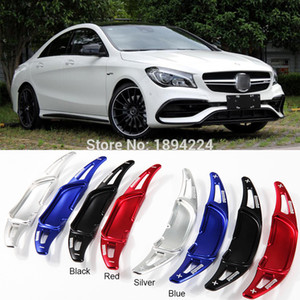 2pcs Car Steering Wheel Shift Paddle Shifter Extension For BENZ AMG C63 C43 2015-2019