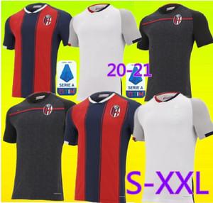 Nova 20 21 BOLOGNA FC 1909 Soccer Jersey casa de distância terceiros 20 21 Maglie camisas de futebol da calcio Sansone Orsolini Tomiyasu Skov Olsen Soriano
