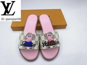 qianqianli8 LM04 M8501 Weiß Raster gedruckt Pantoffeln Frauen High Heels Sandalen Hausschuhe Mules Slides Pumps Loafers Ballerinas Turnschuhe Kleid Sh