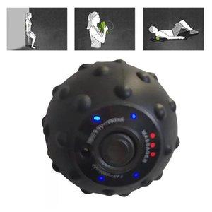 12W Elektro-Roller Ball 4 Speed High Intensity vibrierende Massage-Kugel Senoeory Muskel ErschütterungMassager Yoga Fitness Equipment