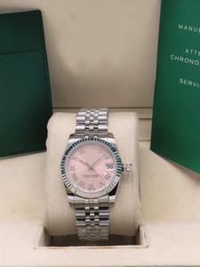 New Steel Qualität Datejust Frauen Mechanische Edelstahl 316l Stahl 31mm Automatik-Uhrwerk beobachten Luxus Uhren Armbanduhren