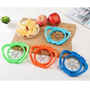 Kitchen Gadgets Stainless Steel Apple Cutter Slicer Vegetable Fruit Tools Kitchen Accessories Apple Easy Cut Slicer Cutter VT0335