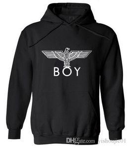 New Punk Style London Boy Hawks Printed Hoodies Männer voller Hülse Sweatshirts Herbst-Winter-Mode Male Rock Hip Hop Pullover Hot
