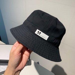 Sombrero del cubo de diseño casquillo de la manera de la marca del borde de los sombreros Tacaño respirable ocasional cupo los sombreros 5 Modelos muy calidad de ala ancha sombreros al por mayor