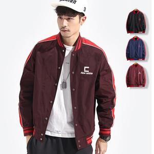 2020 New Fashion Jackets de baseball Hommes col montant Blouson Printemps Automne Mens Slim Fit Streetwear Manteau Hombre Chaqueta