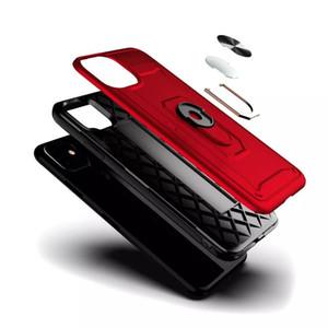 Escudo armadura à prova de choque Phone Case Capa para iPhone 11Pro max 6 6Splus Militar Gota Testado Silicon TPU caso para iphone 12 com anel
