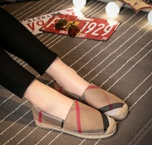 Womens Chaussures Casual Femmes Fisher Flats dames Chaussures de toile Lady Style de l'Europe à fond plat Chaussures