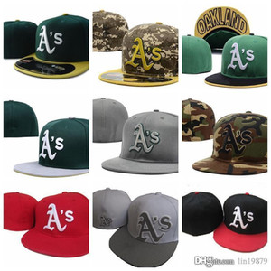 2019 new hot brand cotton Athletics AS letter Baseball caps Casual Outdoor sports men women hip hop casquette Fitted Hats