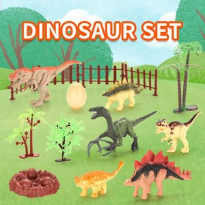 2 mini mixed simulation dinosaur models toy for kids inspire imagination and enhance memory cognition birthday gift 01