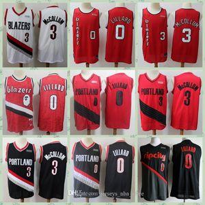 De los hombresPortland 0 Lillard CJ 3 McCollum Carmelo Anthony 00 Baloncesto Jersey City TrailBlazer Edición 2020Pantalones cortos