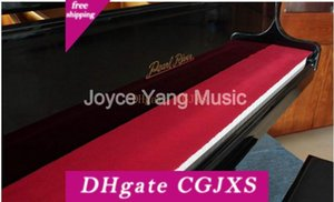 Niko Piano Key Cover Tuch Rot-Filz-Tastatur-Abdeckung Halten Reinigung Kostenloser Versand