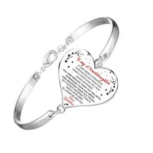 جديدة لابنتي زوجه سحر سوار الإسورة مجوهرات TO MY SON القلب مجوهرات هدية للأطفال صبي فتاة 16 + 5 سم