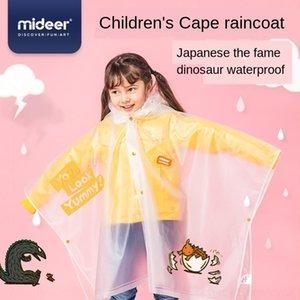 ZzL43 Y10PY manto Manto chuva gear infância Mielu infantil capa de chuva mideer bebê poncho Mielu capa de chuva impermeável