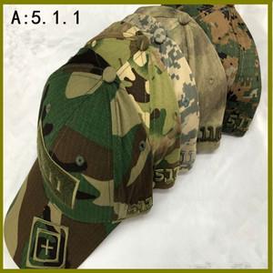 3I2dJ 511 crochet et boucle cible camouflage de baseball Pointed baseball tactique Casquette bouchon spécial