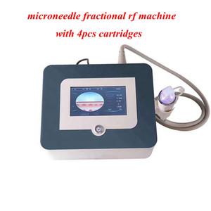 2020 Nouveau design 4 conseils fractionnel RF micro-aiguille du visage et vergetures corps machine de beauté rajeunissement de soins de la peau de l'enlèvement d'acné RF