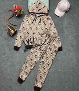 Autumn leisure pure cotton women's sportswear suit two-piece  sweater
