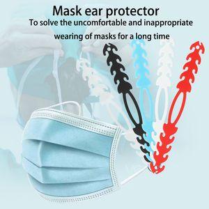 MASK EXTENDER MASQUE LANYARD LANYARD ADMISSION Crochet d'oreille Crochet d'oreille, douleur antidérapante de l'oreille soulagée de porter de longue date