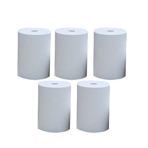 5 Rolls Makbuz yok Yapışkan Yazıcı Kağıdı Çıkartma Mini Fotoğraf Temizle İçin Paperang