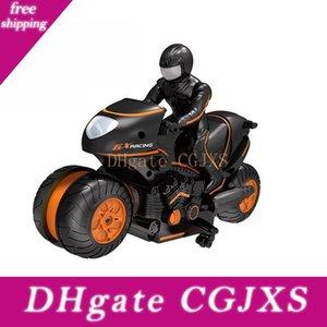 Kinderhoch -Geschwindigkeit Fernbedienung Gehweg Stunt-Motorrad-Fernbedienung Stunt Car Drift 2 .4ghz Racing Kinder S Geschenk