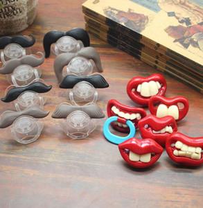 Bébé drôle Pacifier jouets mignon confort Mustache Tétine pour bébés et enfants en bas âge Nipples Pacifier 14 styles KKA8014