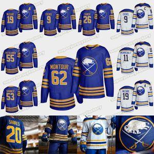 Buffalo Sabres 2020 21 Revenir à Royal Blue Jack Eichel Zach Bogosian Rasmus Ristolainen Rasmus Dahlin Bogosian Victor Olofsso Hockey Jersey