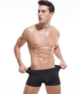 Plus Size Solid Mens Boxers Luxury Breathable Casual Underpants Sexy Mens Boxers Designer Mens Underwear Fashion