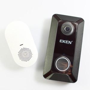 جديد EKEN V6 اللاسلكية الذكية 720P WIFI فيديو الجرس كاميرا سحابة التخزين في البيت الأمن مراقب مراقبة التطبيقات