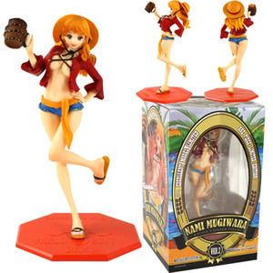 Anime One Piece Nami Escala Pintado regalos de la figura de acción Sexy Girl PVC modelo de juguete colección de muñecas para los niños