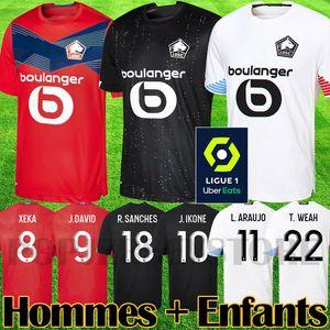 2020 2021 Maillots de football Lille LOSC REMY FONTE BAMBA R maillot de football LEAO YAZICI 20 21 Lille Olympique JIKONE 10 maillot de foot