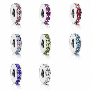 CHAMSS Yeni Moda Kişilik Joker 925 Klasik açacağı İlham Küçük Strings Çok Renkli Charm PPD'lar Orjinal bayanlar hediye Y4gH #
