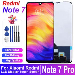 الأصلي للحصول على العرض LCD XIAOMI Redmi ملاحظة 7 LCD شاشة عرض تعمل باللمس الجمعية محول الأرقام Redmi Note7 برو M1901F7G 10 تاتش