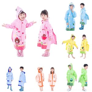 Öğrencilerin Cloak yağmur botları Erkek Bebek okul Kız yağmur botları için aRO5E Su geçirmez yağmurluk anaokulu çocukları çocuk seti panço