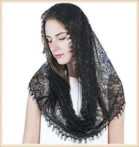 Musulman châle de mariée casquette de mariage Islam catholique châle de dentelle musulmane mariée Islam catholique dentelle Veil écharpe bonnet écharpe de voile de mariage