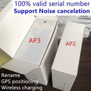 Real Noise cancelamento AP3 Air Gen 3 Transparência sem fio Chrarging Headphones H1 Chip Bluetooth Earbuds AP Pro 3ª 2ª Geração