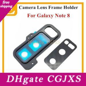 New Voltar Rear Camera Lens Vidro Com suporte do quadro capa para Samsung Galaxy Nota 8 N950 N950f Universal Peças de reposição 10pcs