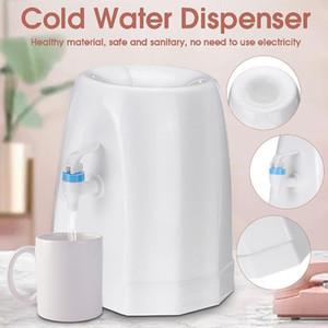 becornce Cold Water Dispenser -grade bomba de água de plástico Home Office Dispenser Top Carregando Independente 25x24x28.5cm Bottle