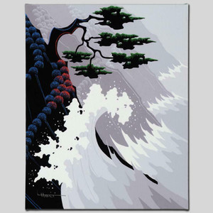 Larissa Holt Tsunami Home Decoration Handcrafts  HD Print Oil Painting On Canvas Wall Art Canvas Pictures For Living Room 200923