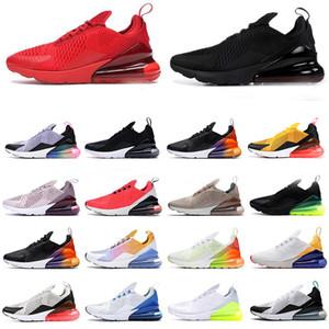 2020 zapatos corrientes nuevos 270 Verde Azul Hombres 36-45 Negro Blanco Rojo Amarillo Moda Casual Hombres Mujeres Zapatos Pareja deportes con la caja