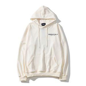 19SS FOG FEAR OF GOD ESSENTIALS Hoodiemänner Sweater Langarm-Shirt Mode Kleidung Gedruckte Buchstaben Blumenfoto Sweater M-2XL