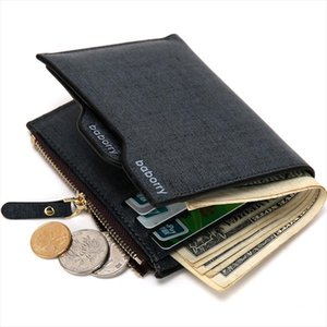 New Wallet Men Soft Leather wallet with removable card slots multifunction men wallet purse male clutch top quality