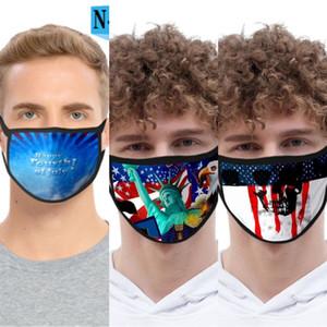 Máscara Diseñador máscaras de los niños del algodón reutilizable hombres de la cara animal de la impresión con la respiración de la válvula anti Pm2