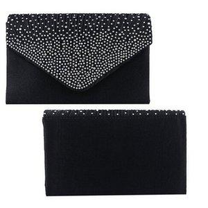 새로운-저녁 새틴 디아 shouder 가방 masculino 여성 클러치 가방 파티 봉투 가방 체인