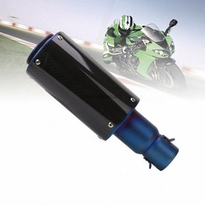 Für YZF R1 R6 CBR1000RR F5 ZX-6R 636 Motorrad 51mm Universal-Auspuff gaU8 #