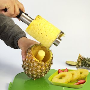 Stainless Steel Easy to use Pineapple Peeler Accessories Pineapple Slicers Fruit Knife Cutter Corer Slicer Kitchen Tools