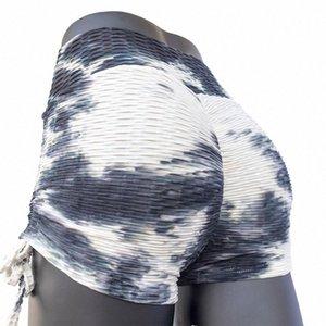 Tunnelzug Aufzug Buttock Yoga Shorts Frauen-reizvolle hohe Taillen-Druck Bodycon Fitness Radfahren Sport Shorts Gelegenheits Home Service 3SKd #